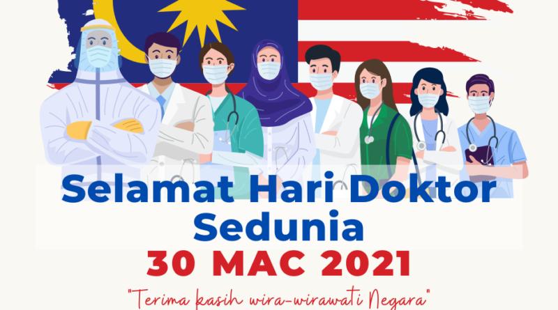 Selamat Hari Doktor Sedunia 2021